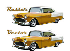 car.photo.collections.for.you: recreated by the artist in this classic car very c...