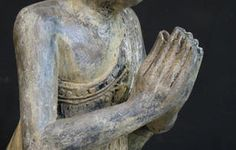 Namaskara Mudra. Namaskara, or Anjali mudra, is the hand gesture that evokes greeting another being with the utmost respect and adoration  form of prayer coming from one's heart or the third eye. ...