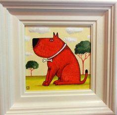 Red Dog by Michael Abrams  http://www.smartgallery.co.uk/artworks/michaelabrams009