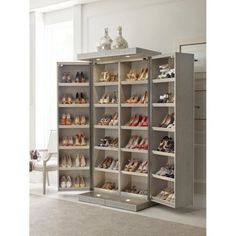 30 Fabulous DIY Shoe Rack Design Ideas for Your Shoe Collection – Home and Apartment Ideas Shoe Storage Design, Closet Shoe Storage, Diy Shoe Rack, Rack Design, Shoe Storage Furniture, Shoe Storage Solutions, Shoe Racks, Shoe Storage Elegant, Shoe Storage Cabinet With Doors