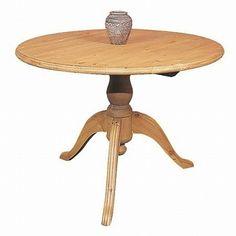 Beautiiful round pine table