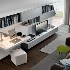 Style Your Home With Floating Cabinets Living Room: study room wall cabinets