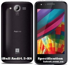 iBall Andii4.5-k6 features on http://latest.com.co/iball-andi4-5-k6.html