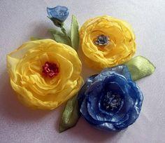 Fácil Prendedor de Flor   Aprender manualidades es facilisimo.com