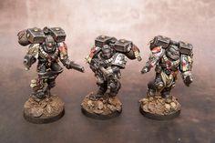 Black Templars Assault Squad Part 2