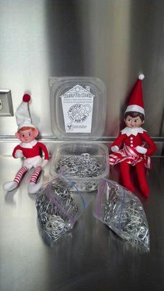 Helpful elves donating pull tabs