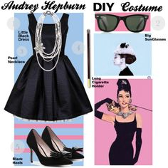 audrey hepburn halloween costume - Google Search