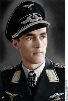 Luftwaffe ace Karl Gottfried Nordmann was credited with 78 enemy aircraft shot down in over 800 combat sorties (April He survived the war and was appointed president of Mercedes-Benz in North America. Luftwaffe, German Soldiers Ww2, German Army, Churchill, Germany Ww2, The Third Reich, Military Photos, World War Two, Wwii