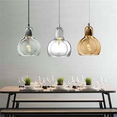 Quality Nordic Loft Personalized Big Bulb Glass Pendant Light Amber Glass Lampshade Lighting Bar Hanging Light Lamp with free worldwide shipping on AliExpress Mobile Glass Pendant Light, Contemporary Glass, Glass Chandelier, Pendant Lamp, Light Fixtures, Hanging Light Lamp, Pendant Light, Contemporary Pendant Lights, Restaurant Lighting Fixtures