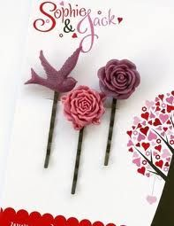 flower and bird paperclips