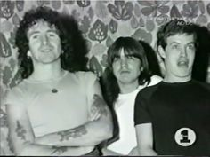 Bon Scott, Malcolm Young, Angus Young - AC/DC