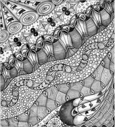 zentangle- I'm pinning this so I don't forget that I actually know how to do this!! (Zentangle, not pinning!)