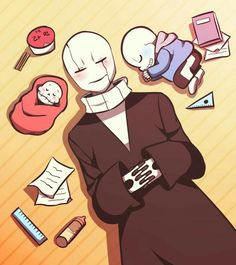 Gaster, Sans and Papyrus | The Family