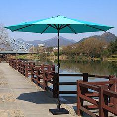 Sundale Outdoor Feet Aluminum Offset Patio Umbrella Wi Https - Coolaroo 10 foot round cantilever freestanding patio umbrella mocha