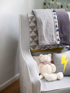 Our Baby Boy's Nursery Before After Chic Nursery, Nursery Decor, Room Decor, Inspiration For Kids, Nursery Inspiration, Baby Decor, Kids Decor, Kids Bedroom Dream, Grey Yellow Nursery