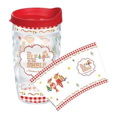 The Elf On the Shelf Story Checkered 10-oz. Bubbles Tumbler, Multicolor