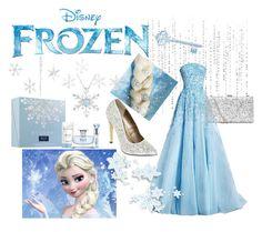 """Elsa from Frozen"" by lovaro ❤ liked on Polyvore featuring Michael Antonio, Disney, Bulgari, modern, disney, Disneyprincess, frozen and elsa"