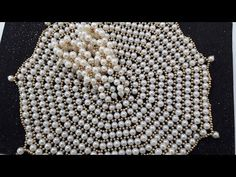 Part 3 - Make pearl dress for your thakurji - No fabric only pearls.. be...