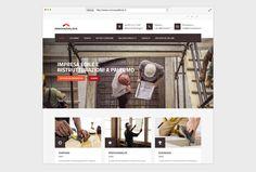 Realizzazione logo e sito web per impresa edile - Pandemia Web Agency Logan, Palermo, Betta, Baseball Cards, Betta Fish