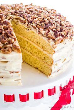 Gluten-free Birthday Cake (Sugar-free, Low Carb, Keto)