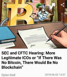 The Commodity Futures Trading Commision (CFTC) and US Securities and Exchange Commision (SEC) met the morning of February 6 2018 to discuss their roles in Blockchain virtual currencies and ICOs. Set in Washington D.C. at the Dirksen Senate Building the Committee on Banking Housing and Urban Affairs met in open session for about 2 hours. Before the hearing began testimonies were released on behalf of both witnesses.  The Pre-Testimonies (these testimonies were released on February 5 2018)  J…