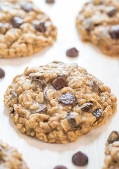 The Best of Oatmeal Chocolate Chip Cookies by Averie Cooks