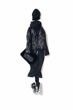 Kyoto Kikuchi's Closet #kk-closet  いろいろな黒をmix