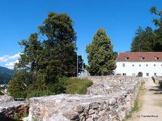 Maßenburg Castle in Leoben, Austria