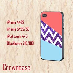 iphone 5c case,iphone 5c cover,cute iphone 5c case,iphone 5s case,iphone 5s cases,iphone 5s cover,iphone 5 case--Glitter chevron,in plastic. by CrownCase88 on Etsy, $14.99