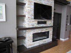 Leonard Wall Unit - contemporary - family room - toronto - JWS Woodworking and Design Inc.