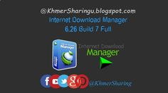 Internet Download Manager 6.26 Build 7 Full | KhmerSharing Internet Download Manager has a smart download logic accelerator that features intelligent dynamic file segmentation and safe multipart downloading technology to accelerate your downloads. Unlike other download accelerators and managers that segment files before downloading starts Internet Download Manager segments downloaded files dynamically during download process. Download Link Below (recommend use Chrome) Mirror 1 IDM 6.26...