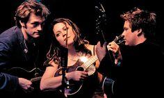 Nickel Creek: contemporary folk group with mandolin, fiddle, and guitar...plus Sara Watkins' melodic soprano voice. Superb.