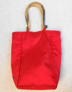 Vintage Red Purse for the Holidays by ShopGlammasAttic on Etsy, $10.00