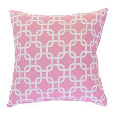 Links Cotton Throw Pillow