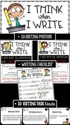 """Is teaching writing draining your energy? Are you thinking  """"There's got to be an easier way!"""" Is your biggest problem that your students are afraid to spell words on their own because they think they have to spell everything correctly? Than this is for YOU!"""