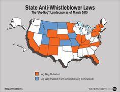 Ag-Gag Bills at the State Level   ASPCA