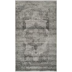 Safavieh Vintage Grey Viscose Rug (3' x 5') - Overstock™ Shopping - Great Deals on Safavieh 3x5 - 4x6 Rugs