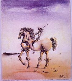 Cavallo Metafisco, Salvador Dali