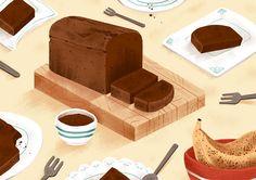 Chocolate Banana Bread by Jeannie Phan