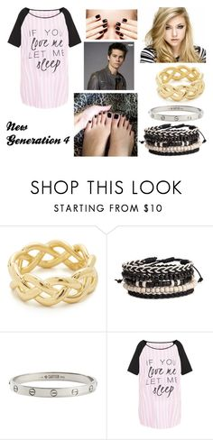 """New Generation 4"" by giuly666 on Polyvore featuring moda, Soave Oro e Cartier"