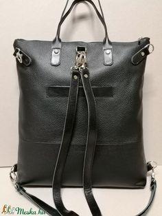 5 az 1-ben fekete kabrió hátizsák (fgabor1) - Meska.hu Laptop, Handle, Bags, Fashion, Handbags, Moda, Fashion Styles, Fashion Illustrations, Laptops