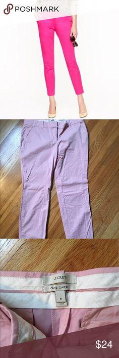 Moving Sale 📦📦J Crew cafe Capri Great light pink Capri pant J. Crew Pants Capris