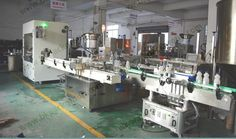 Bleach filling capping line