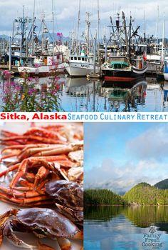"""Sitka, Alaska: A Seafood Culinary Retreat"" from @Marla Meridith"