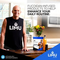 Rowdy Gaines LIMU Products