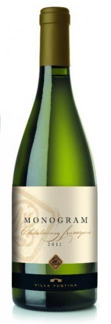 Monogram Chardonnay 2011 | Villa Yustina | Bulgarian wine