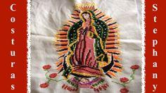 Terminando la corona a la Virgen de Guadalupe