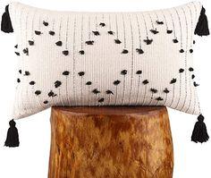 Throw Pillow Covers, Throw Pillows, Garden Cushions, Geometric Cushions, Living Room Grey, Lumbar Pillow, Tassels, Boho, Cotton