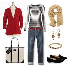 Red, Black and Tan, created by bluehydrangea on Polyvore