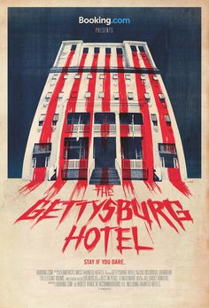 Horror-themed ads invite you to visit haunted hotels—If you dare